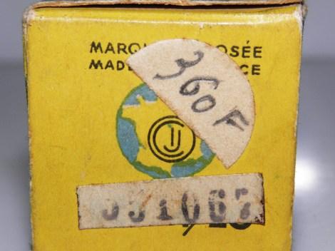 boîte CIJ surchargé avec numéro de la Saprar