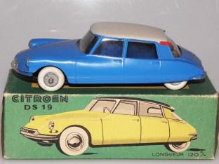 JRD Citroën DS19 nuance de couleurs de pavillon (beige)