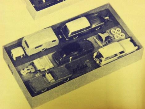 Coffret Junior avec Ford Thunderbird