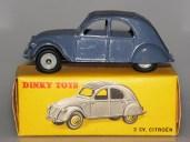 Dinky Toys Citroën 2cv référence 535 nuances de couleur de capote