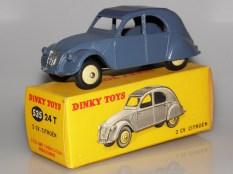 Dinky Toys Citroën 2cv moins fréquente version avec jantes de couleur crème