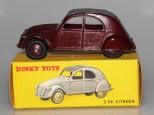 Dinky Toys Citroën 2cv essai de couleur
