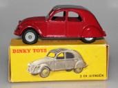 Dinky Toys Citroën 2cv jantes concave