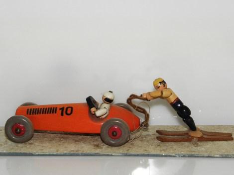 SCHOVANEK monoplace avec skieur