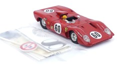 Dinky Toys Ferrari 312P avec planche de décoration