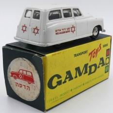 "Gamda Standard Vanguard ambulance ""red magen david"""