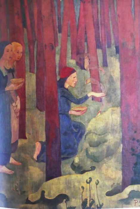 "Paul Sérusier ""L'Incantation ou Le Bois sacré ""(1891)"