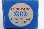 boîte Europarc de la référence 3-48 pour Renault 4cv calandre 3 barres