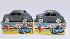 C-I-J Renault 4cv calandre 6 barres jantes en acier