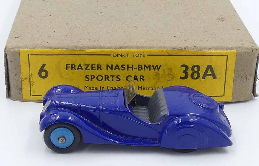 Dinky toys serie38 Frazer Nash export