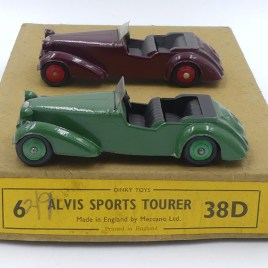 Dinky toys serie38 Alvis export