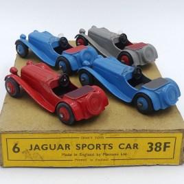 Dinky toys serie38 Jaguar SS100 export