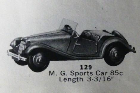 extrait du Catalogue Dinky-toys Hudson Dobson 1956-1957