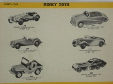 Catalogue Dinky-toys Hudson Dobson 1956-1957