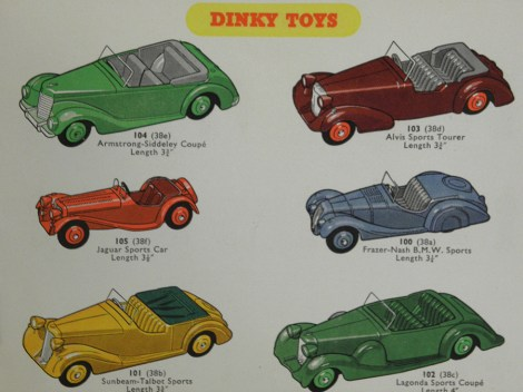 Catalogue Dinky-toys Hudson Dobson 1954
