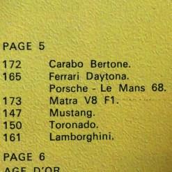 extrait de catalogue Solido avec Porsche 908L Le Mans 1968
