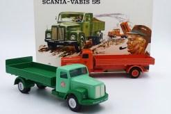 "Tekno Scania 76 ridelles striées ""Nordisk Diesel"" et ""Titan"""