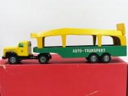 Tekno Scania 76 tracteur semi remorque porte autos promotionnel