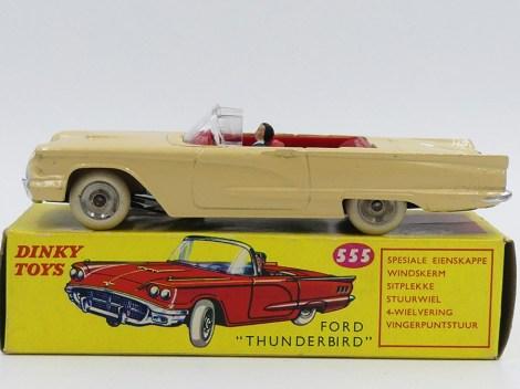 Dinky-Toys Ford Thunderbrid Afrique du Sud