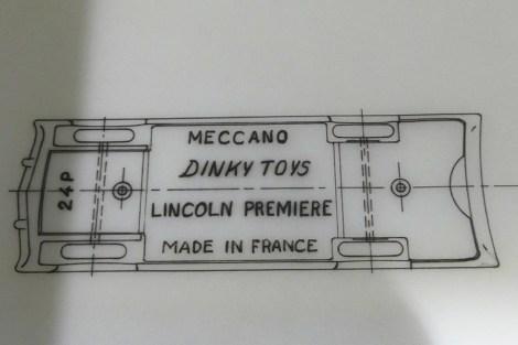 détail du plan de la Lincoln Première 24 P