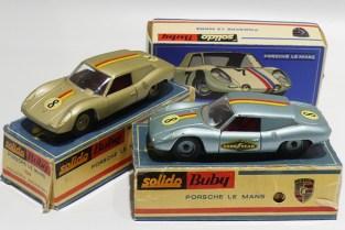 Buby Solido Porsche RS61 avec emballages d'origine