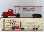 "Tootsietoys Mack""L"" semi remorque remorque tôlé ""Huber"""