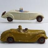 JRD Delahaye 135 et Peugeot 402 cabriolet