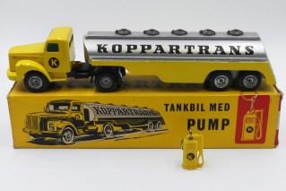 "Tekno Scania 76 semi remorque citerne""Koppartrans"""