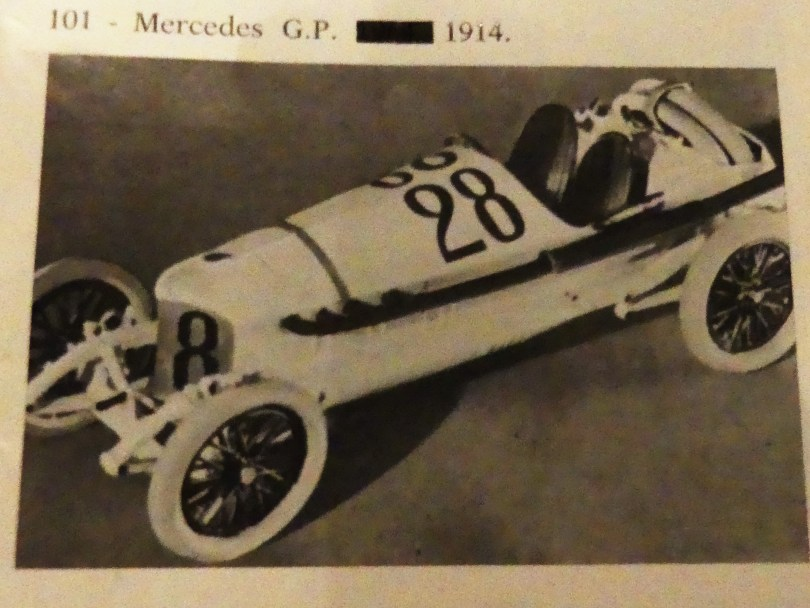John Day Mercedes Benz 4,5L 1er GP ACF 1914