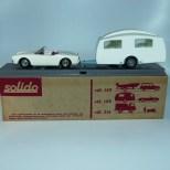 Solido coffret Alfa Romeo Giulietta avec caravane