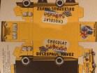 """Planche de découpage du camion Renault """"Delespaul-Havez"""""""