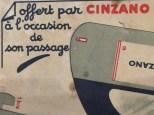 """Découpage : Delahaye autocar """"Cinzano"""""""