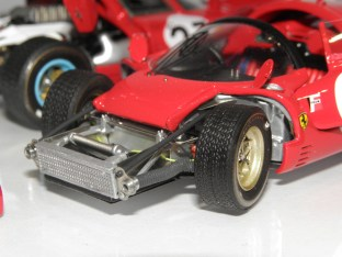 Feeling 43 Ferrari 330P4 spider Daytona 1967
