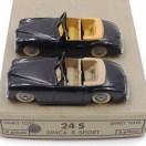 Dinky Toys Simca 8 sport (pare brise fin) l avec intérieur chamois et caramel