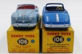 Dinky Toys Austin Atlantic nuances de bleu et d'intérieurs