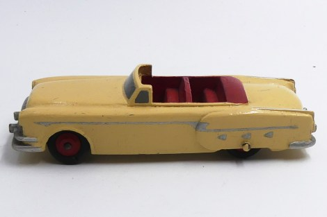 Dinky Toys prototypes bois Packard Clipper