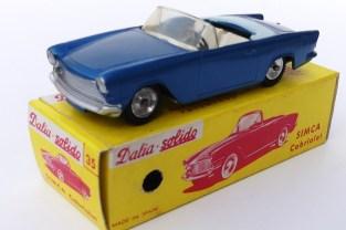Dalia Solido Simca Océane (variantes de couleur de capote et d'intérieur)