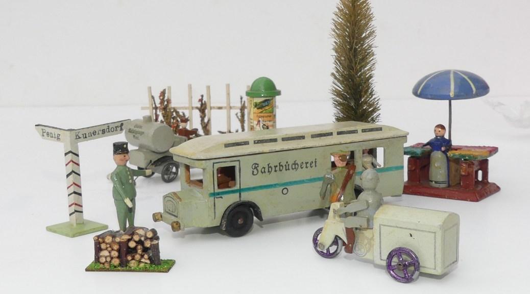 """Erzgebirge: le monde poétique avec le Büssing bibliobus """"fahrbücherei"""""""