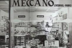 Photo du local de l'importateur Dinky Toys en Italie (les frères Parodi)