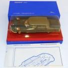Dinky Toys Citroën DS présidentielle et sa boîte bleue (petite série)