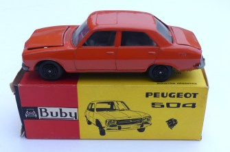Buby Peugeot 504 1/43