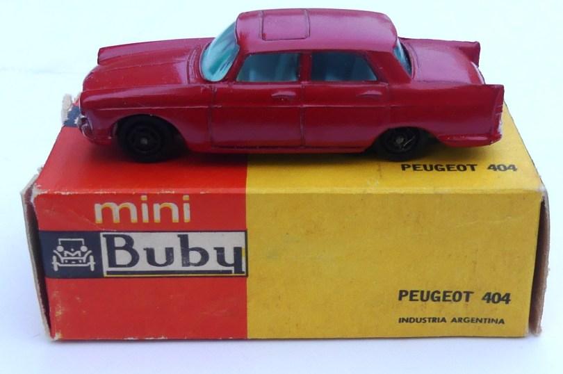 Buby Peugeot 404 1/60