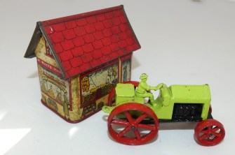 Jo Hill Co Star tracteur (inspiré par celle produite par Tootsietoys)