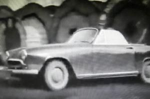 """Simca Week End du film de J.L Godard """"bande à part"""""""