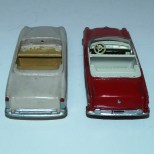 Dinky Toys Chrysler New Yorker : prototype bois et version de série