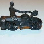 Japon avant-guerre moto sifflet (plomb)