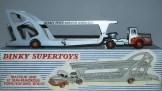 Dinky Toys Unic tracteur semi remorque porte autos (modèle de série) sans vitrage