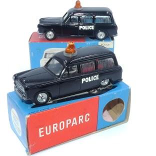 C-I-J Peugeot 403 break police (variante de gyrophare)