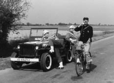 """""""Jour de fête"""" Jacques Tati et la Jeep des GI"""