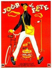 """L'affiche de """"Jour de fête"""" Jacques Tati"""